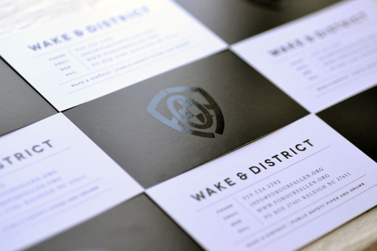 Wake & District Logo Design